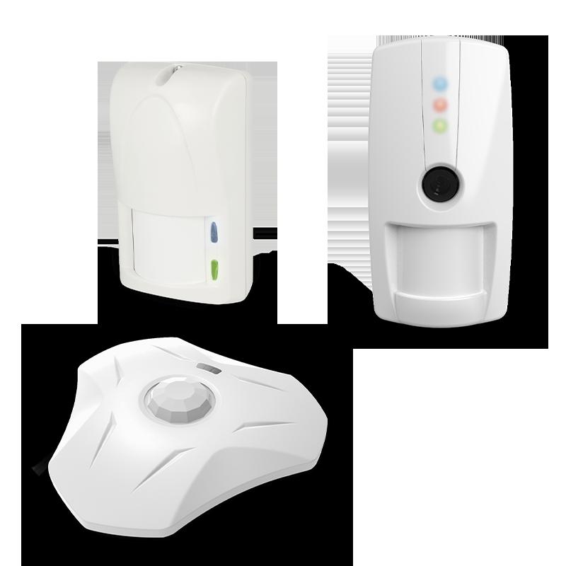 Rivelatori per interno wireless