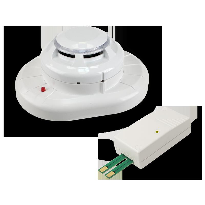 Gas / fumo / temperatura / allagamento wireless